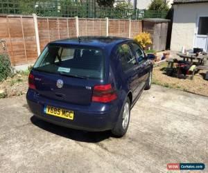 Classic VW Volkswagen Golf 1.9 tdi mk4 diesel blue 2000 for Sale