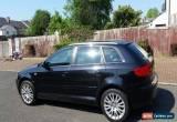 Classic 2007 AUDI A3 SE TDI AUTO BLACK for Sale
