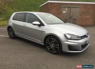 2015 VOLKSWAGEN GOLF MATCH BLUEMOTION TEC SILVER 1.6 TDI CAT D FULL GTD STYLING for Sale