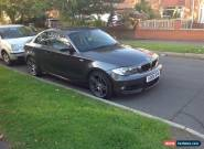2008 BMW 120D M SPORT GREY,px, swap,audi,bmw,vw for Sale