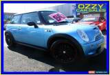 Classic 2003 Mini Cooper R53 S Blue Manual 6sp M Hatchback for Sale