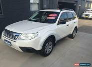 2011 Subaru Forester MY11 X White Automatic 4sp A Wagon for Sale