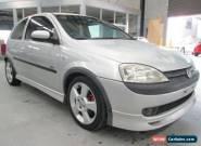 2003 Holden Barina XC SRi Silver Manual 5sp M Hatchback for Sale