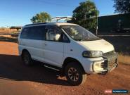 Mitsubishi Delica 4WD Van Intercooled 4M40 Engine Turbo Diesel Tourer Camper  for Sale