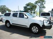 2012 Holden Colorado RG LX (4x2) White Automatic 6sp A Crewcab for Sale