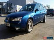 2007 FORD MONDEO ZETEC NAV TDCI BLUE for Sale