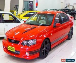 Classic 2005 Ford Falcon BA MkII XR8 Red Manual 6sp M Sedan for Sale