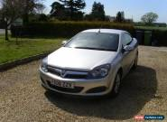 2008 VAUXHALL ASTRA TWINTOP 1.6 SILVER for Sale