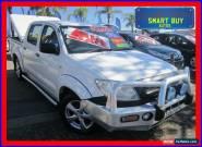 2008 Toyota Hilux TGN16R 08 Upgrade Workmate White Automatic 4sp A for Sale