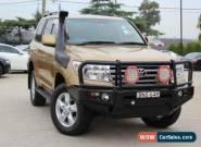 2009 Toyota Landcruiser VDJ200R 09 Upgrade Sahara (4x4) Gold Automatic 6sp A for Sale