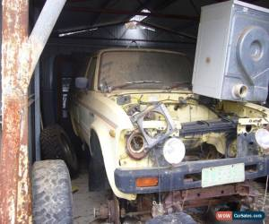 Classic Hi Lux 4WD ute with no engine for Sale