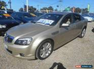 2006 Holden Caprice WM Gold Automatic 6sp A Sedan for Sale