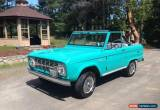 Classic 1966 Ford Bronco for Sale