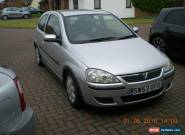 2004 VAUXHALL CORSA SXI 16V SILVER for Sale