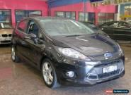 2012 Ford Fiesta WT Zetec Black Mica Automatic 6sp A Hatchback for Sale
