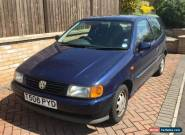 1999 VOLKSWAGEN POLO 1.4 CL BLUE for Sale