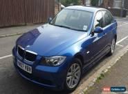 BMW 318I SE BLUE  2007  07 Reg         VERY LOW MILES  for Sale