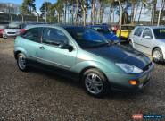 2002 FORD FOCUS ZETEC 1.8 GREEN for Sale