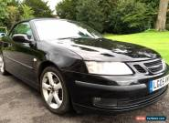 SAAB 9-3 1.8T VECTOR 2005 CONVERTIBLE LOW MILES MIDNIGHT BLACK LEATHER  for Sale