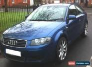 2004 AUDI A3 SE TDI BLUE for Sale