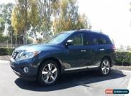 Nissan: Pathfinder Platinum for Sale
