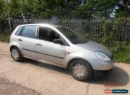 2005 FORD FIESTA STUDIO SILVER FOR SPARES OR REPAIR for Sale