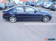 2003 BMW 318I SE BLUE for Sale