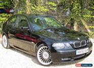 2002/52 BMW 325TI M SPORT COMPACT, MANUAL MODEL, LONG MOT, SERVICED, PX TO CLEAR for Sale