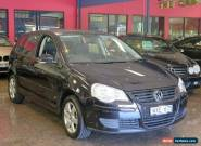 2009 Volkswagen Polo 9N MY08 Upgrade Pacific Black Metallic Automatic 6sp A for Sale
