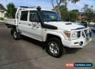 2013 Toyota Landcruiser VDJ79R MY12 Update GXL (4x4) White Manual 5sp M for Sale