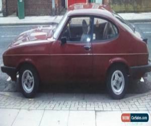 Classic Ford Capri 2.0 mk 3 Laser for Sale