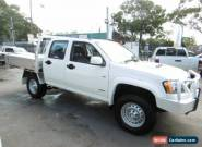 2009 Holden Colorado RC MY09 LX (4x4) White Manual 5sp M Crewcab for Sale