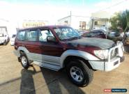 1996 TOYOTA PRADO GXL V6 3.4L 5 SP MANUAL AIR CON 8 SEATER DRIVES VERY WELL  for Sale