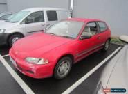 1992 Honda Civic Hatchback Manual  for Sale