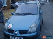 2002 RENAULT CLIO EXTREME 16V BLUE for Sale