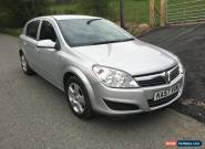 2008 VAUXHALL ASTRA CLUB TWINPORT SILVER 1,4 16V for Sale
