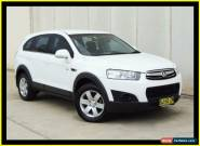 2011 Holden Captiva CG Series II 7 SX (FWD) White Automatic 6sp A Wagon for Sale