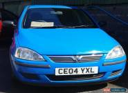 Vauxhall corsa life 1.2 for Sale