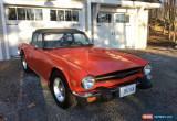 Classic Triumph: TR-6 for Sale