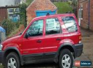ford maverick zetec 4x4 2ltr 2002 for Sale