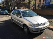 2001 VOLKSWAGEN POLO S SILVER for Sale