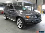 2002 BMW X5 E53 3.0I Grey Automatic 5sp A Wagon for Sale