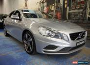 2011 Volvo S60 F Series T5 PwrShift R-Design Silver Blue Automatic 6sp A Sedan for Sale