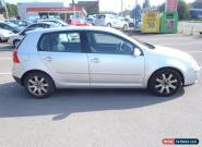 2004 VOLKSWAGEN GOLF GT TDI SILVER for Sale