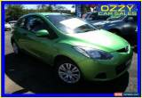 Classic 2009 Mazda 2 DE Neo Green Manual 5sp M Hatchback for Sale