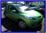 2009 Mazda 2 DE Neo Green Manual 5sp M Hatchback for Sale