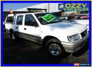 2002 Holden Rodeo TFR9 MY02 LT White Automatic 4sp A Crewcab for Sale