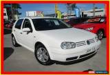 Classic 2003 Volkswagen Golf 4th Gen MY03 Generation White Automatic 4sp A Hatchback for Sale