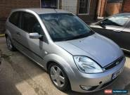 2004 FORD FIESTA FLAME SILVER A/C for Sale