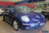 Classic 2006 Volkswagen Beetle 9C MY06 Upgrade Cabriolet Blue Automatic 6sp A Cabriolet for Sale